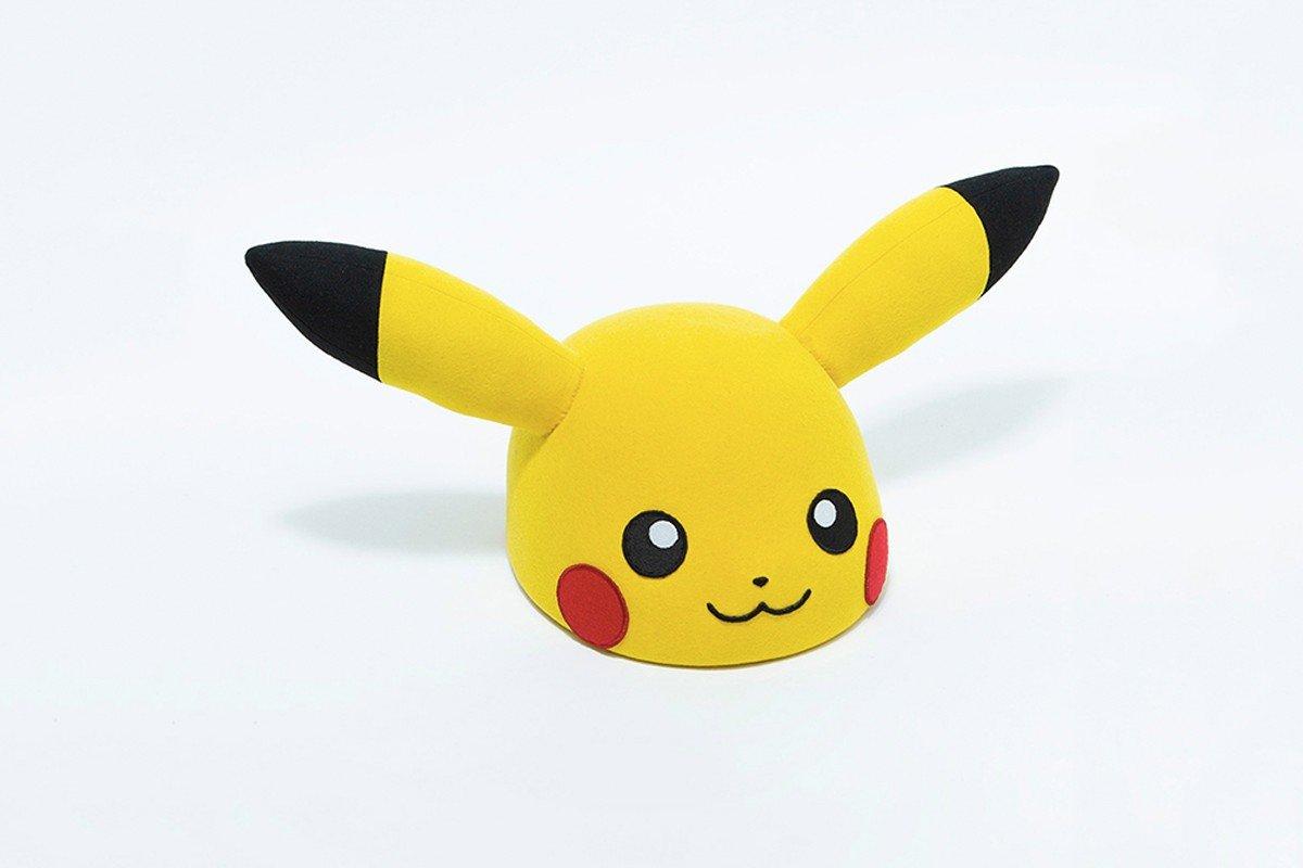 日本帽子品牌 CA4LA 与超人气动画 Pokémon 联手打造 Pikachu 帽子