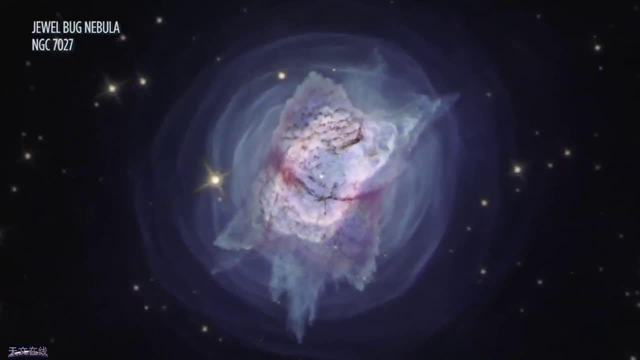 简直美丽极了!哈勃望远镜拍到壮观的蝴蝶星云和宝石虫星云