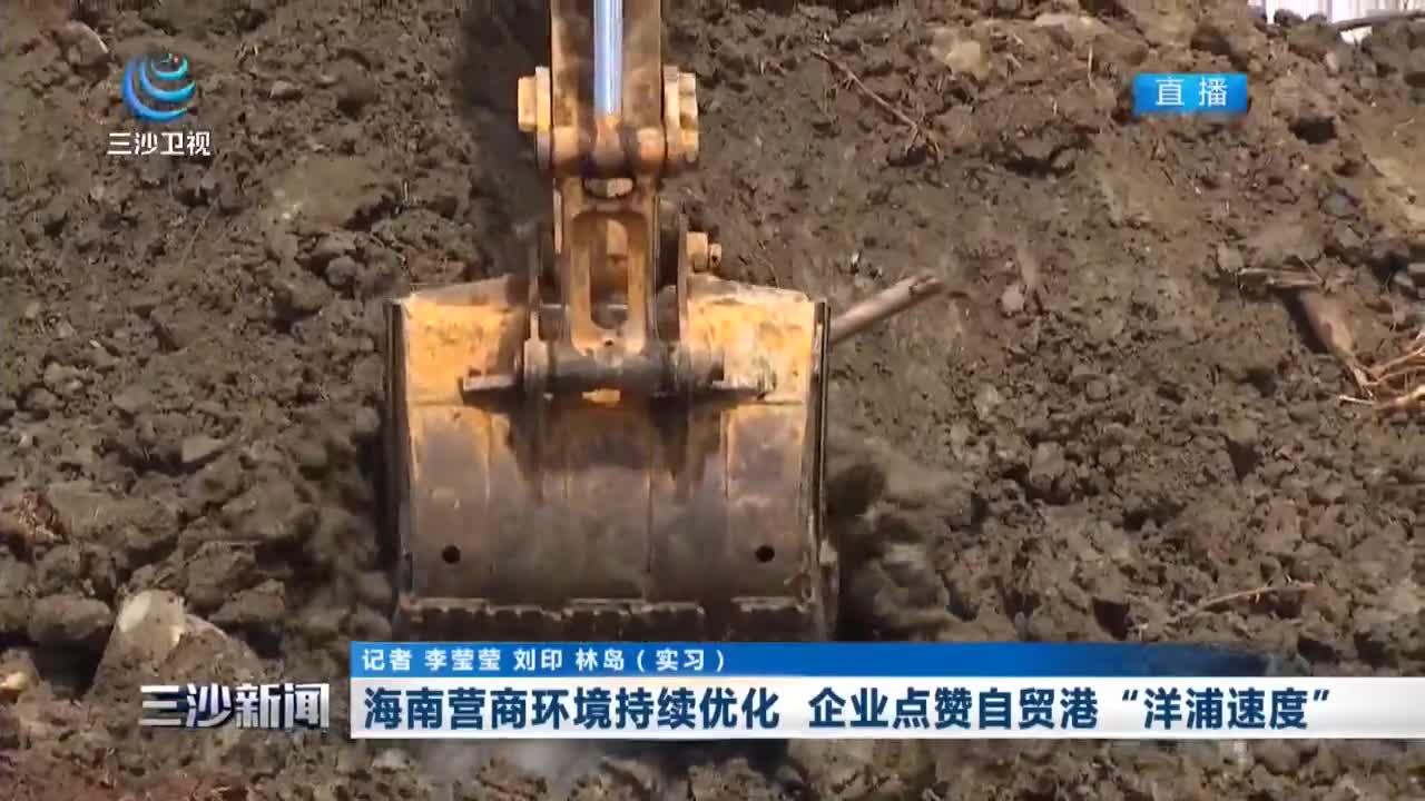 """海南营商环境持续优化 企业点赞自贸港""""洋浦速度"""""""