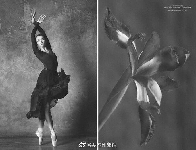 像花儿一样舞蹈。作者:Yulia Artemyeva