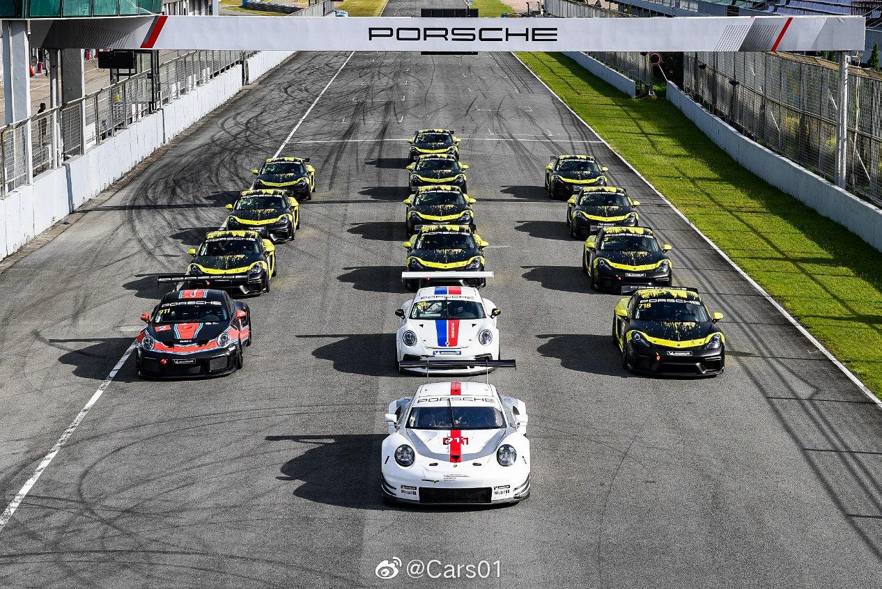 中国保时捷运动杯在珠海国际赛车场再次开启