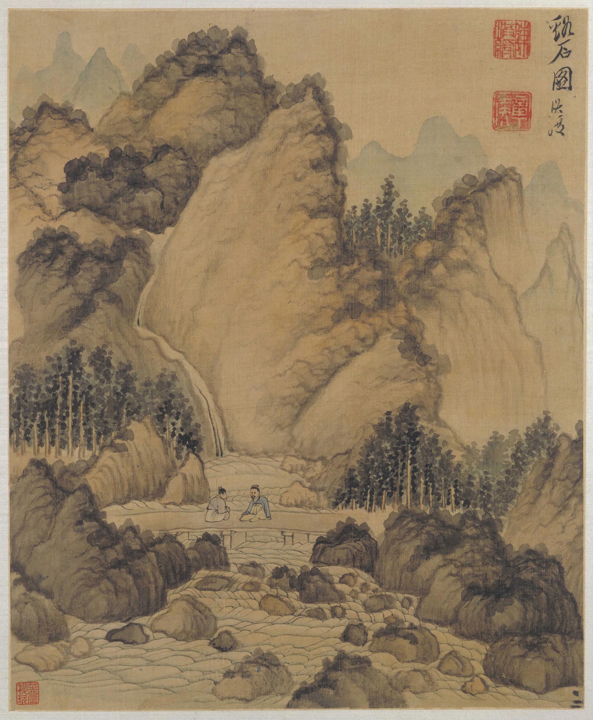 陈洪绶(1599年—1652年)字章侯