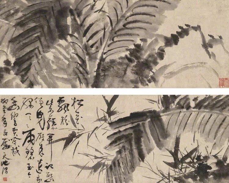 徐渭(1521—1593)汉族,山阴(今浙江绍兴)人。初字文清