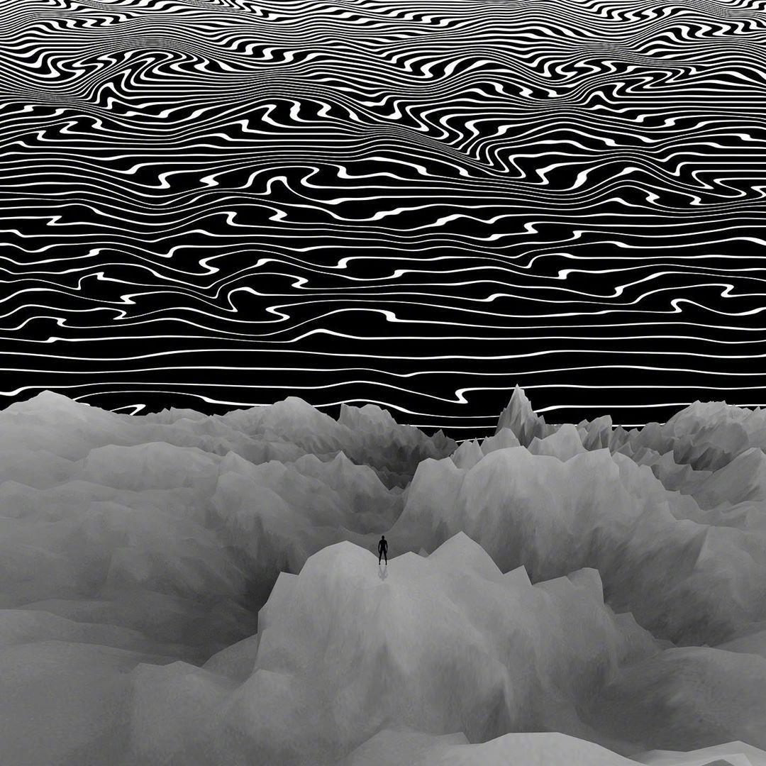 律动中的点·线·面by Nate Hill
