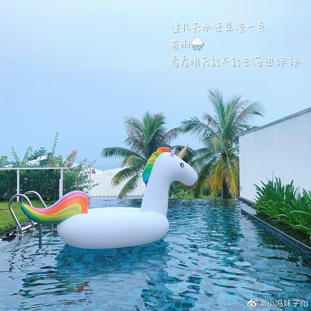三亚plog还是不时下雨酒店的游乐设施还是很棒的所以玩的也毫无压