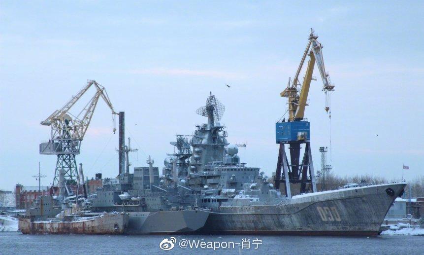 """探秘暂停服役状态的俄罗斯海军""""乌沙科夫海军上将""""号导弹巡洋舰内部"""