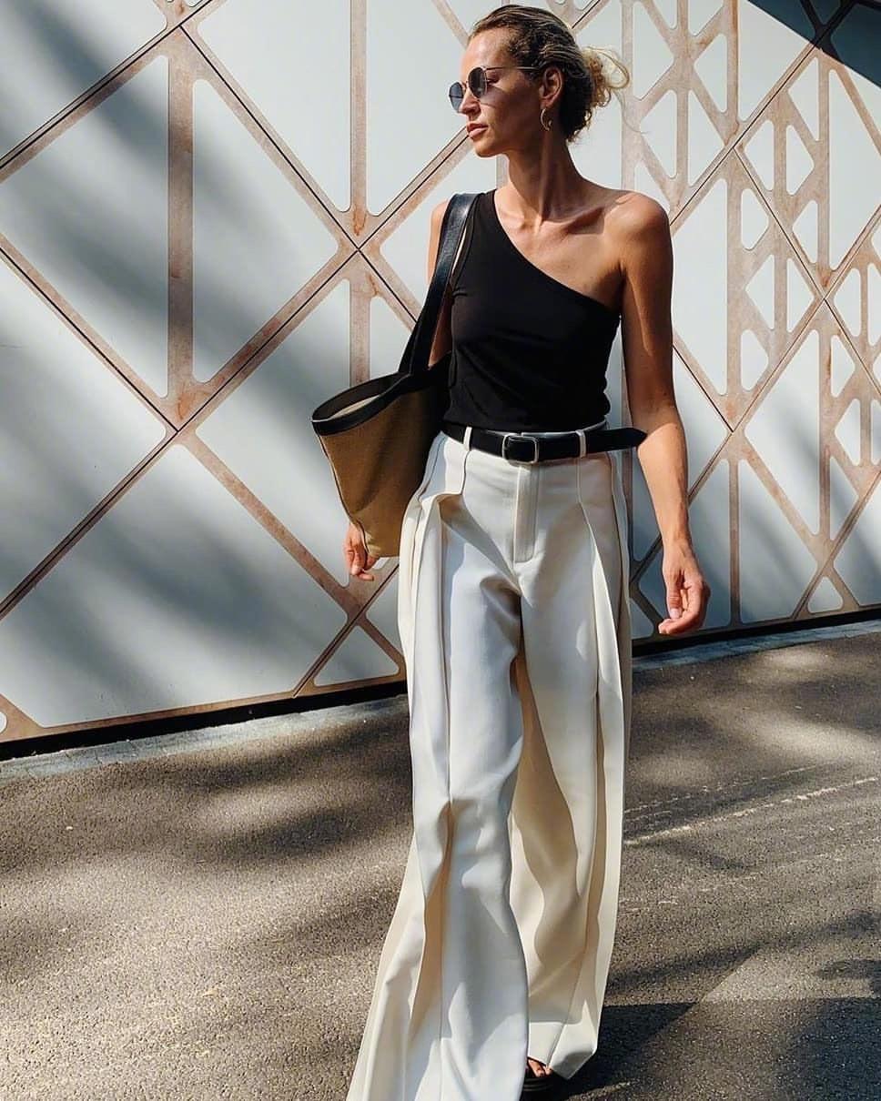 """烦恼穿什么的时候,就穿""""黑白配""""吧!简约又高级!"""