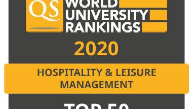 澳门旅游学院在QS世界大学排名中取得历史最高名次