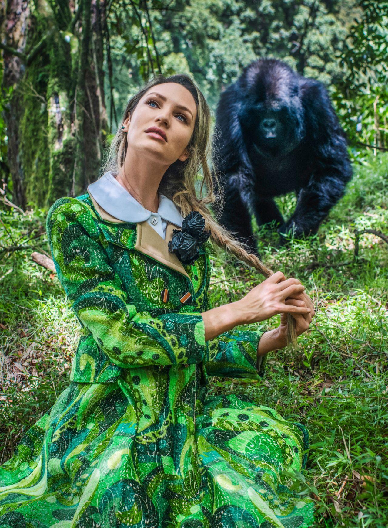 坎蒂丝·斯瓦内普尔(Candice Swanepoel)-Harper's Bazaar美国2020年