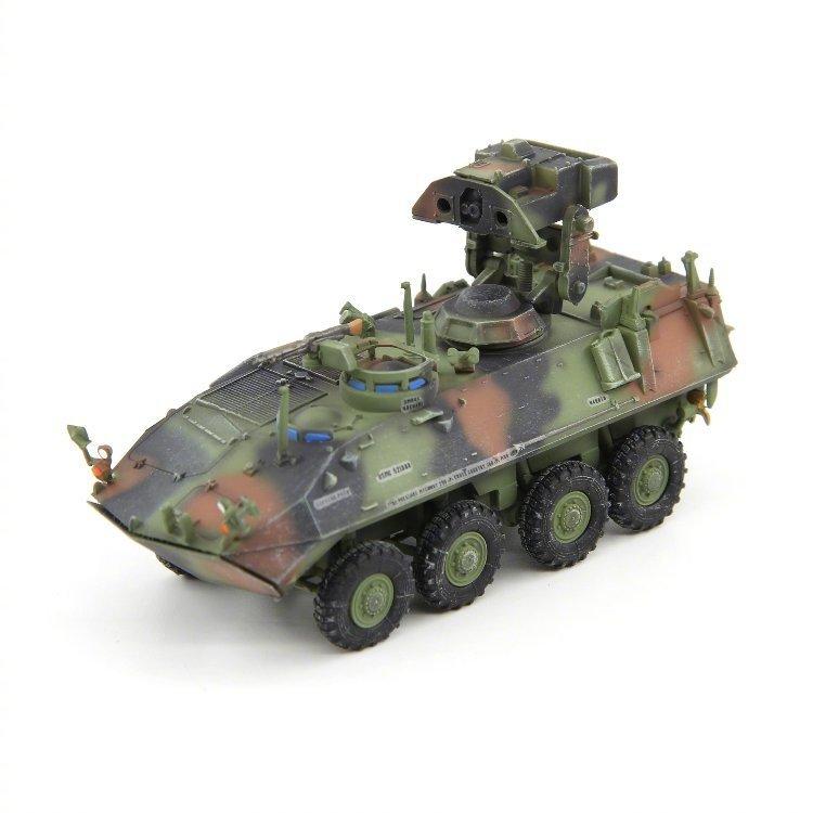 UNISTAR 8月新品 1/72美国海军陆战队LAV-AT反坦克导弹发射车成品模型