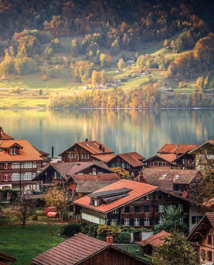 仿佛上帝把所有的美好都留在了瑞士。