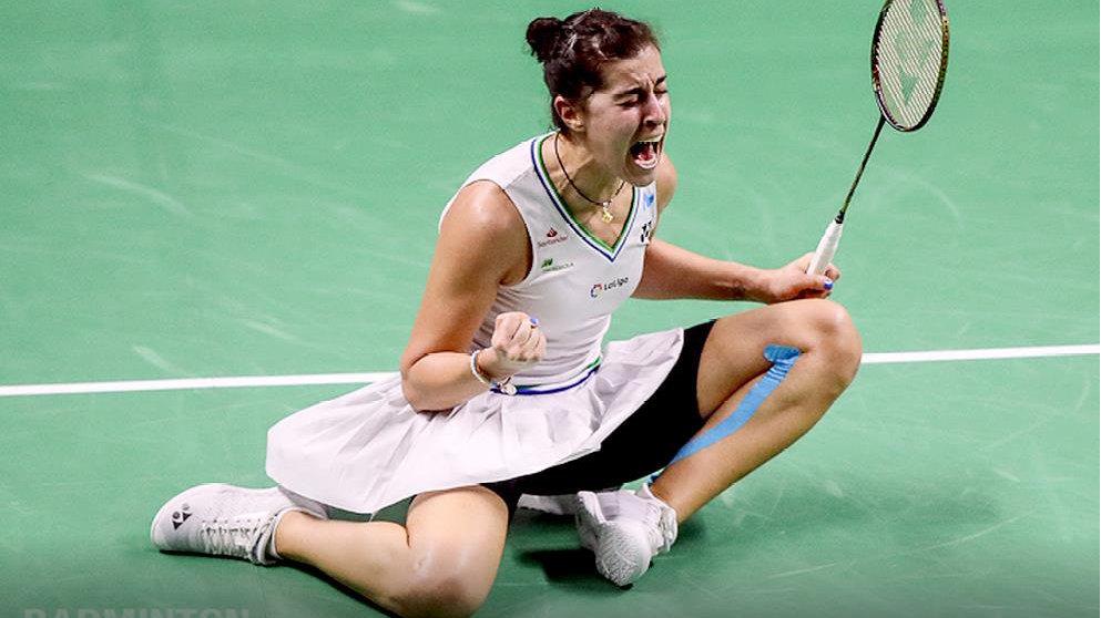 泰国羽毛球公开赛落幕 马林、安赛龙分获男女单打冠军