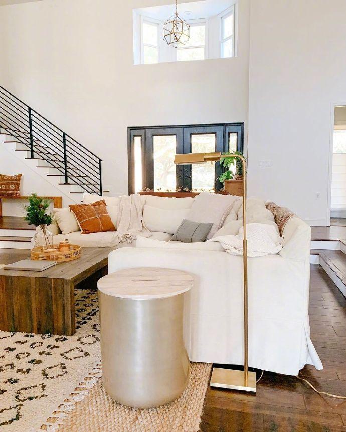 来感受下空间感十足的现代家装风格 。    免费设计: