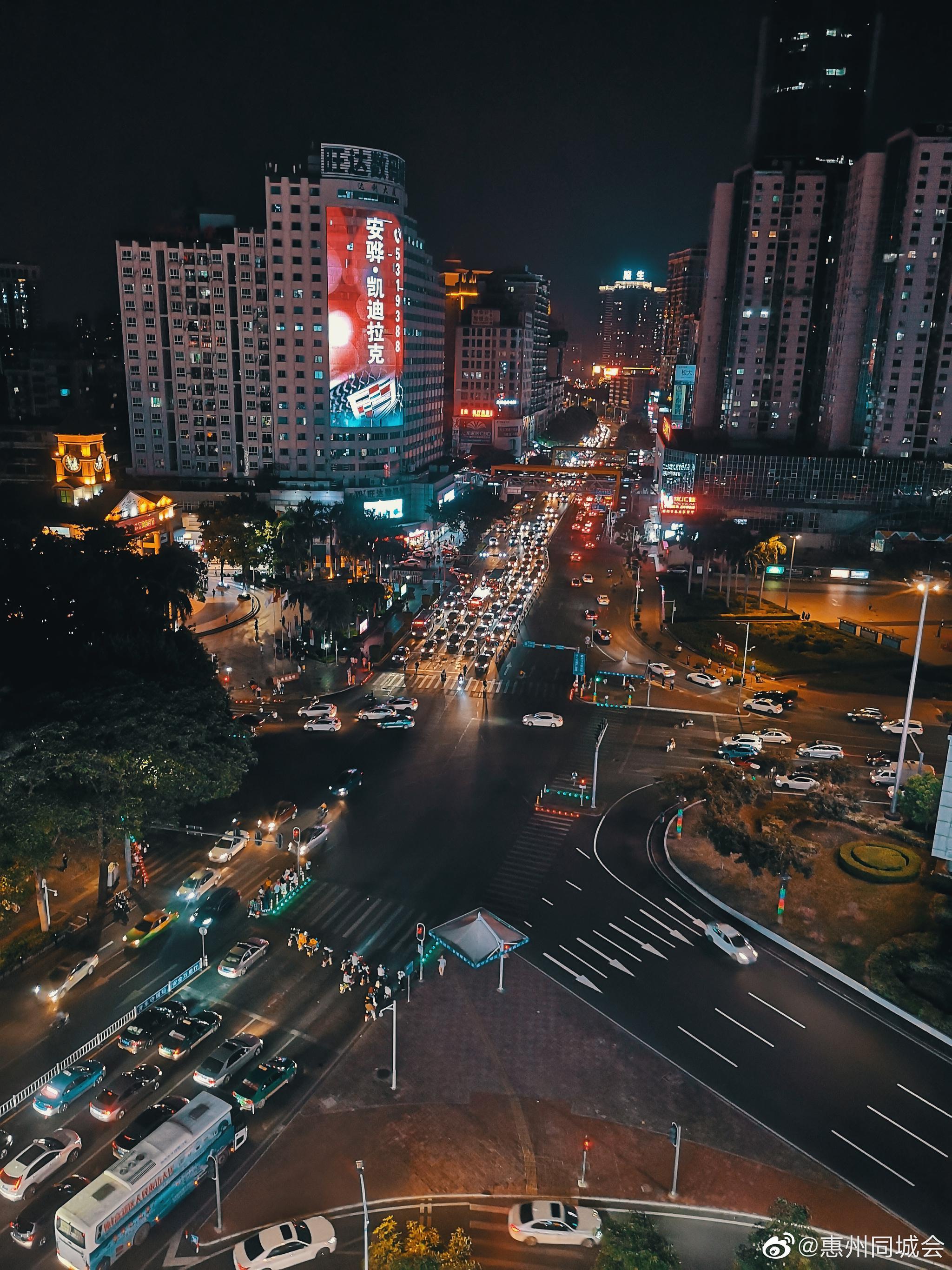 愉快的周末又要结束啦,你拍过惠州最美的夜色在哪里?……
