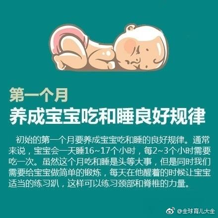 宝宝1-18个月发育里程碑
