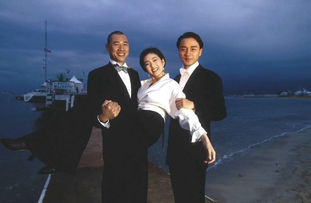 1993年戛纳电影节   巩俐&张国荣&张丰毅