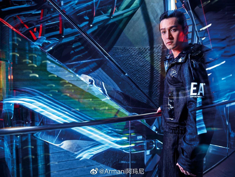 Advertising campaign   Emporio Armani ✖️胡歌胡歌再度出镜EA202