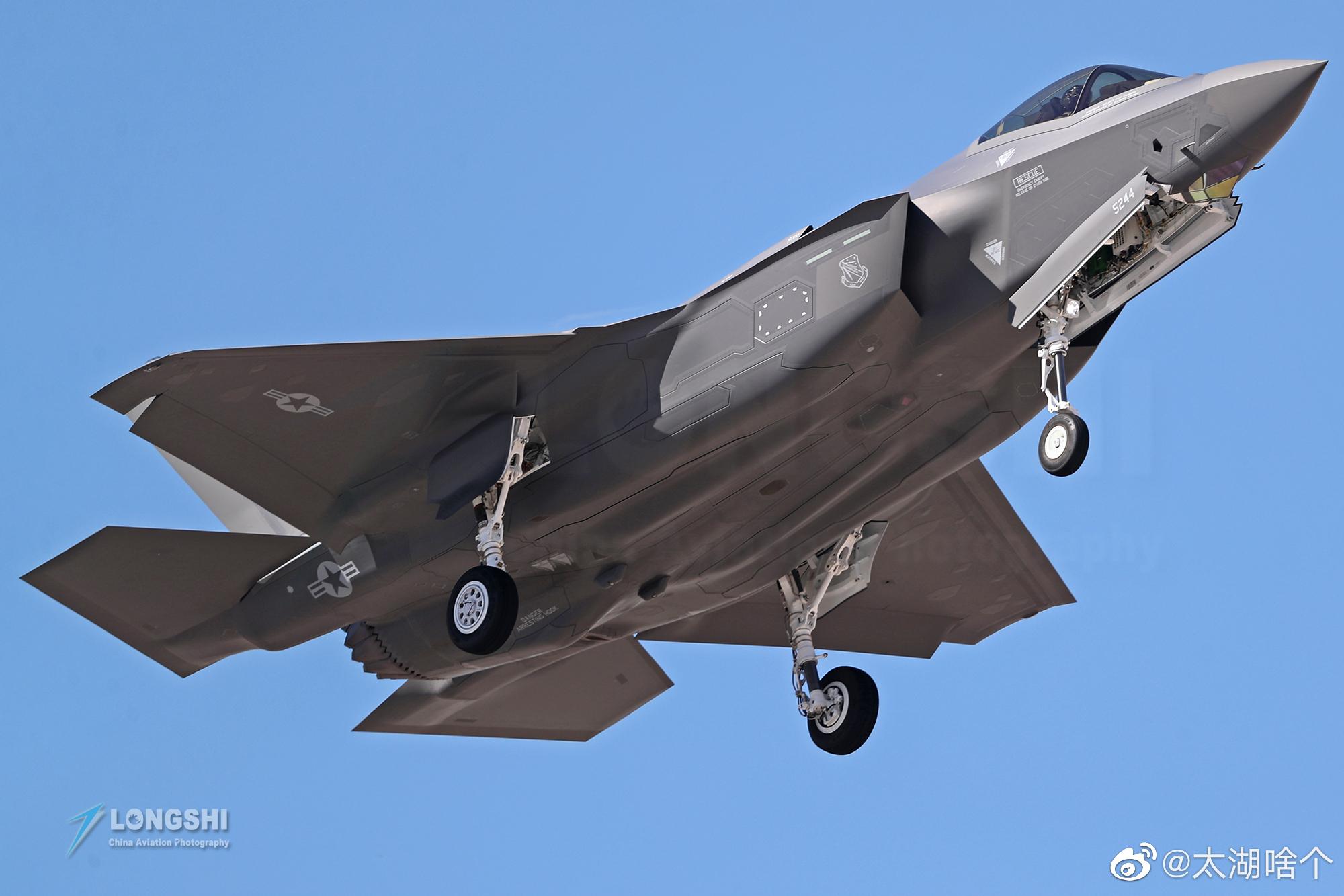 F-35A闪电II战斗机将逐取代F-16、F-15和A-10成为美国空军的主力战斗