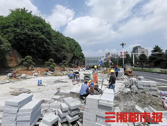 """6月底,长沙三一大道、岳麓大道完成""""变妆"""""""