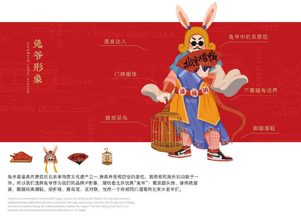 谭福锅北京烤鸭品牌LOGO设计及VI设计欣赏!尚膳若水