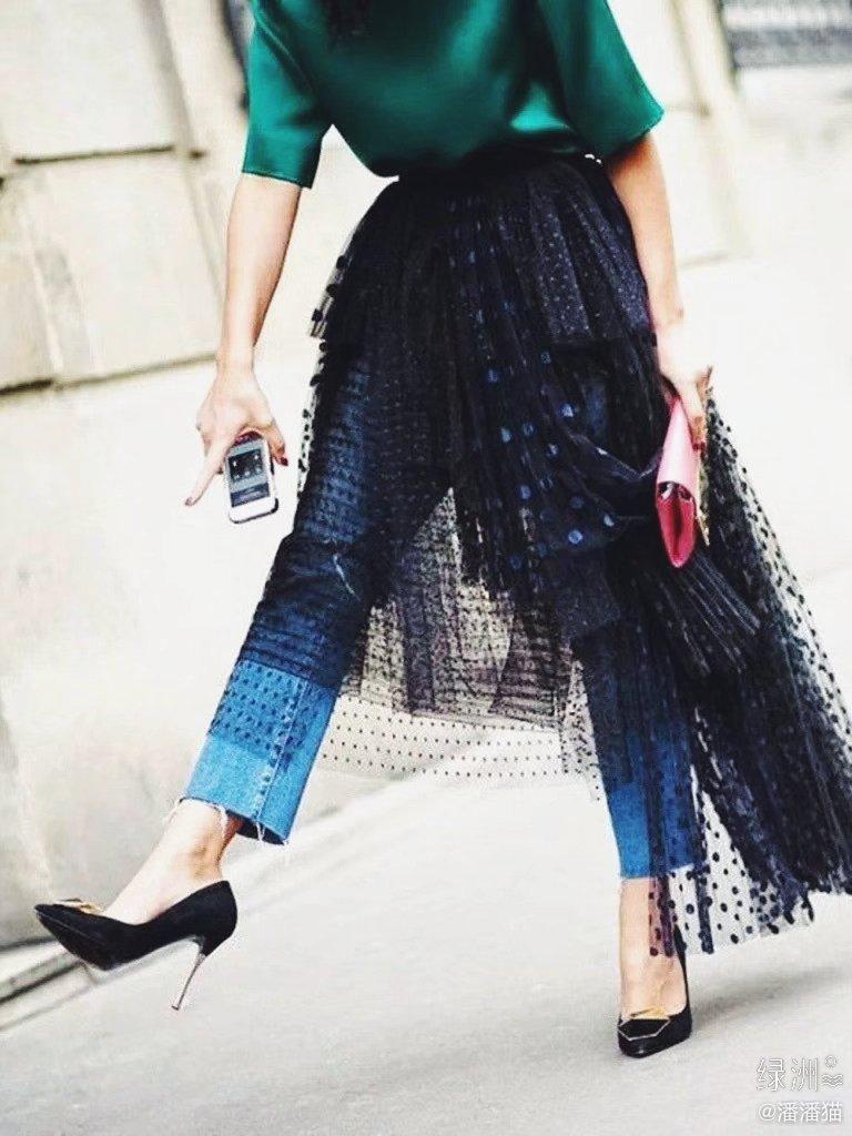 2020年流行穿搭:裙子👗+裤子👖