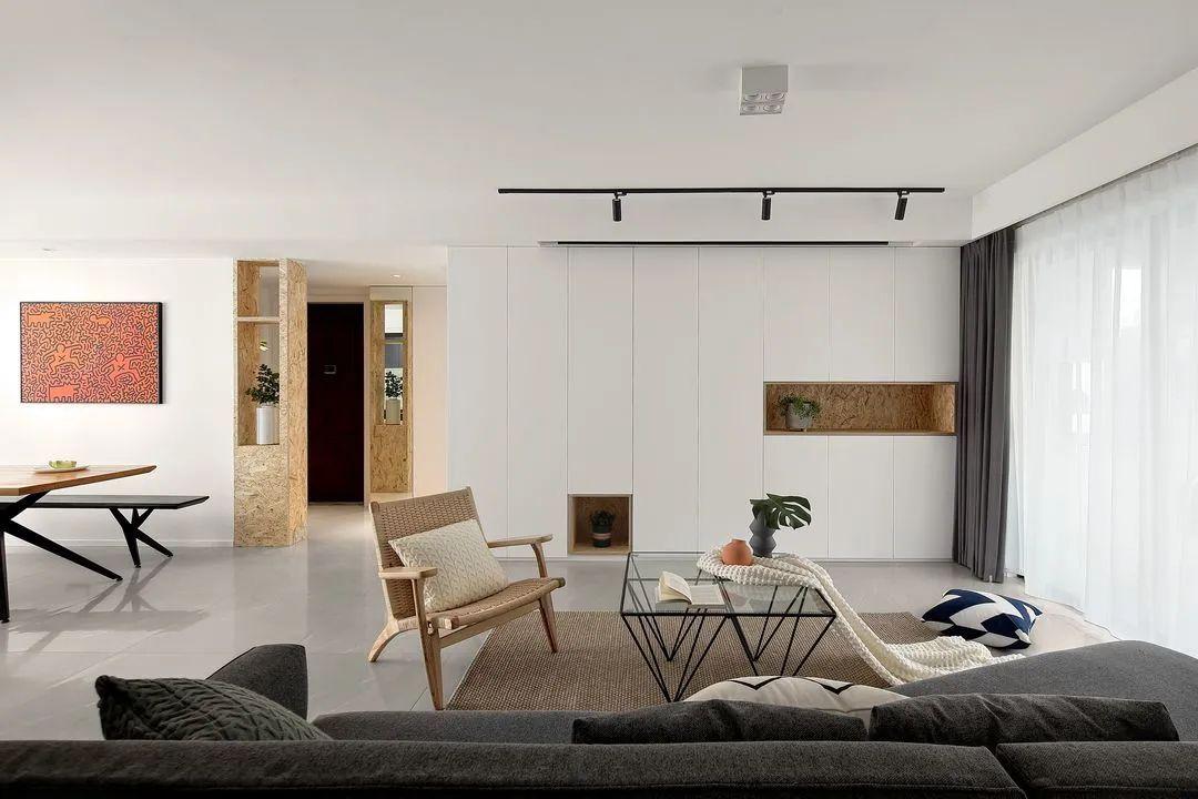 现代简约舒适明朗二人宅丨张兆娟设计