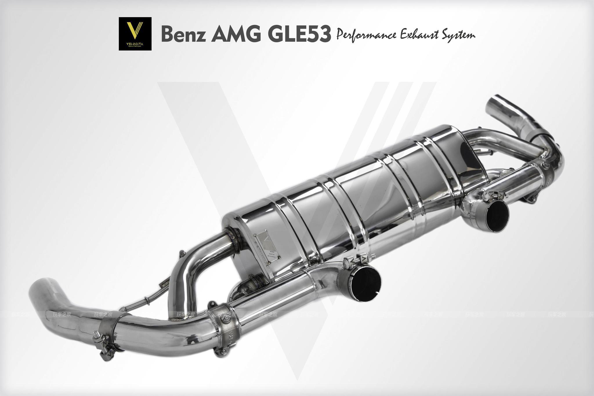 奔驰GLE53 升级高性能智能排气系统