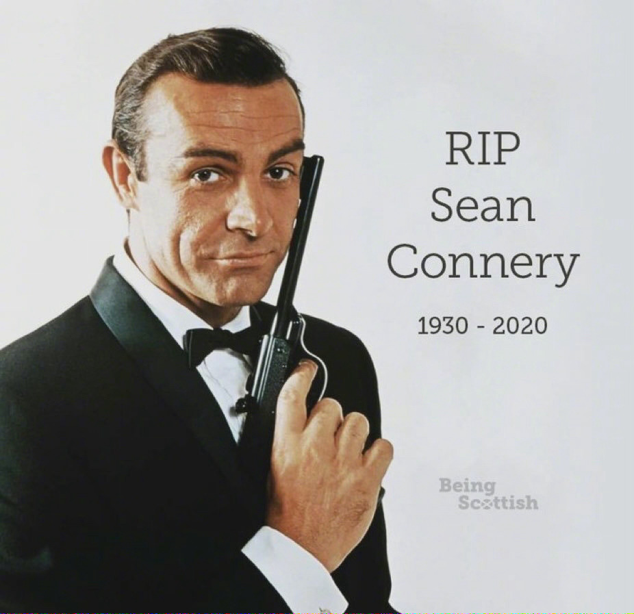 据英国广播公司消息,詹姆斯·邦德扮演者肖恩·康纳利去世,享年90岁