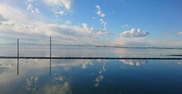 千叶县江川海岸,日本的天空之镜,美得像动漫场景