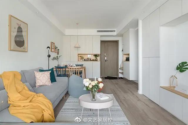 实用又浪漫的小户型单身公寓,即使一个人生活,也可以精致多彩