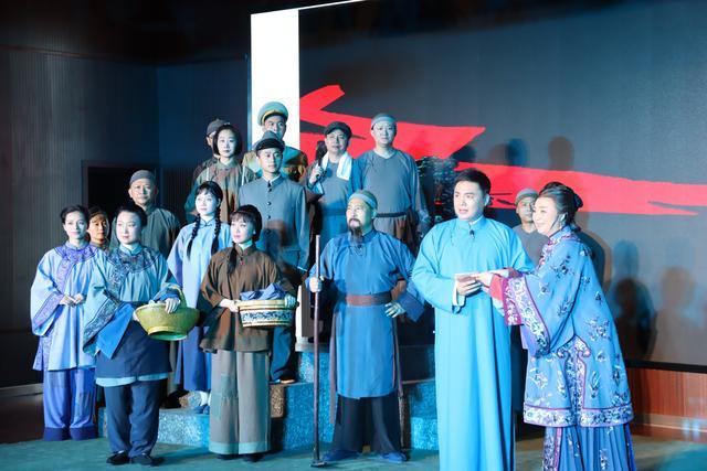 婺剧《信仰的味道》走进上海财大浙江学院