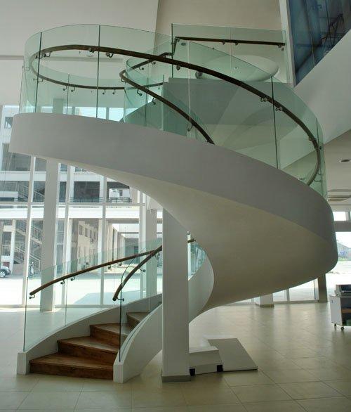 旋转楼梯设计图与尺寸