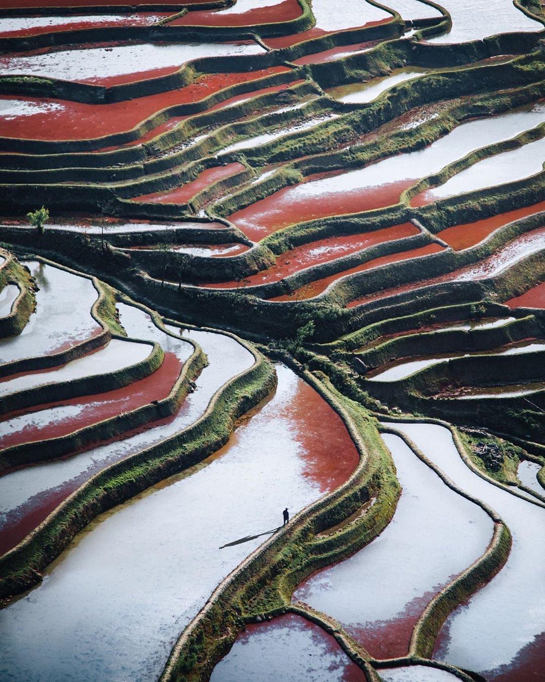 英国自由摄影师Jord Hammond镜头下的中国。客家土楼独特的建筑结构