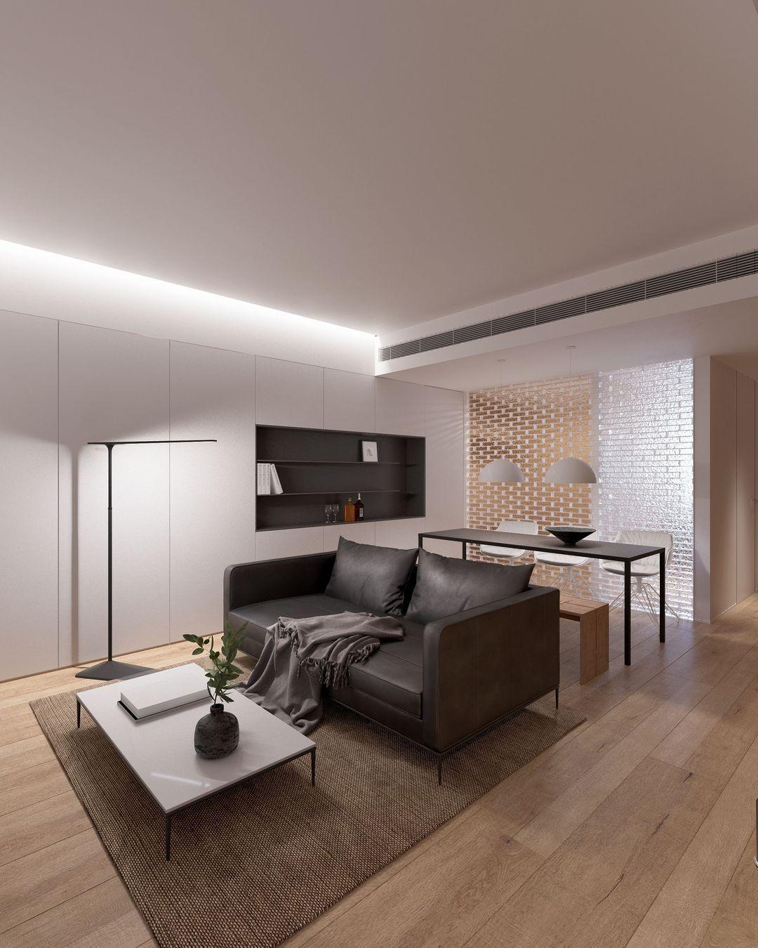 82㎡现代简约风格住宅丨汪诗伦设计