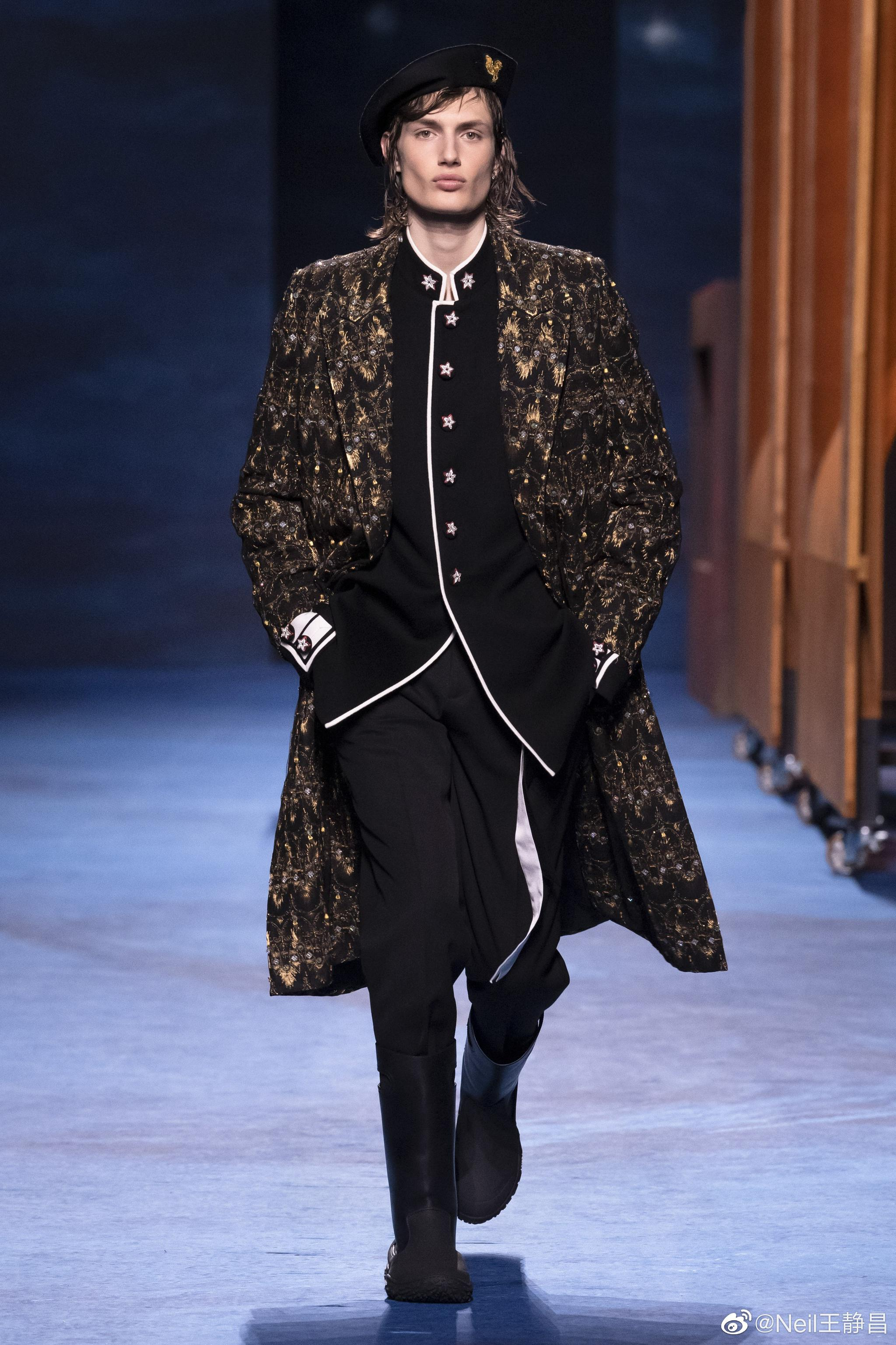 Dior 2021冬季男装系列 这一季看起来比较古典……
