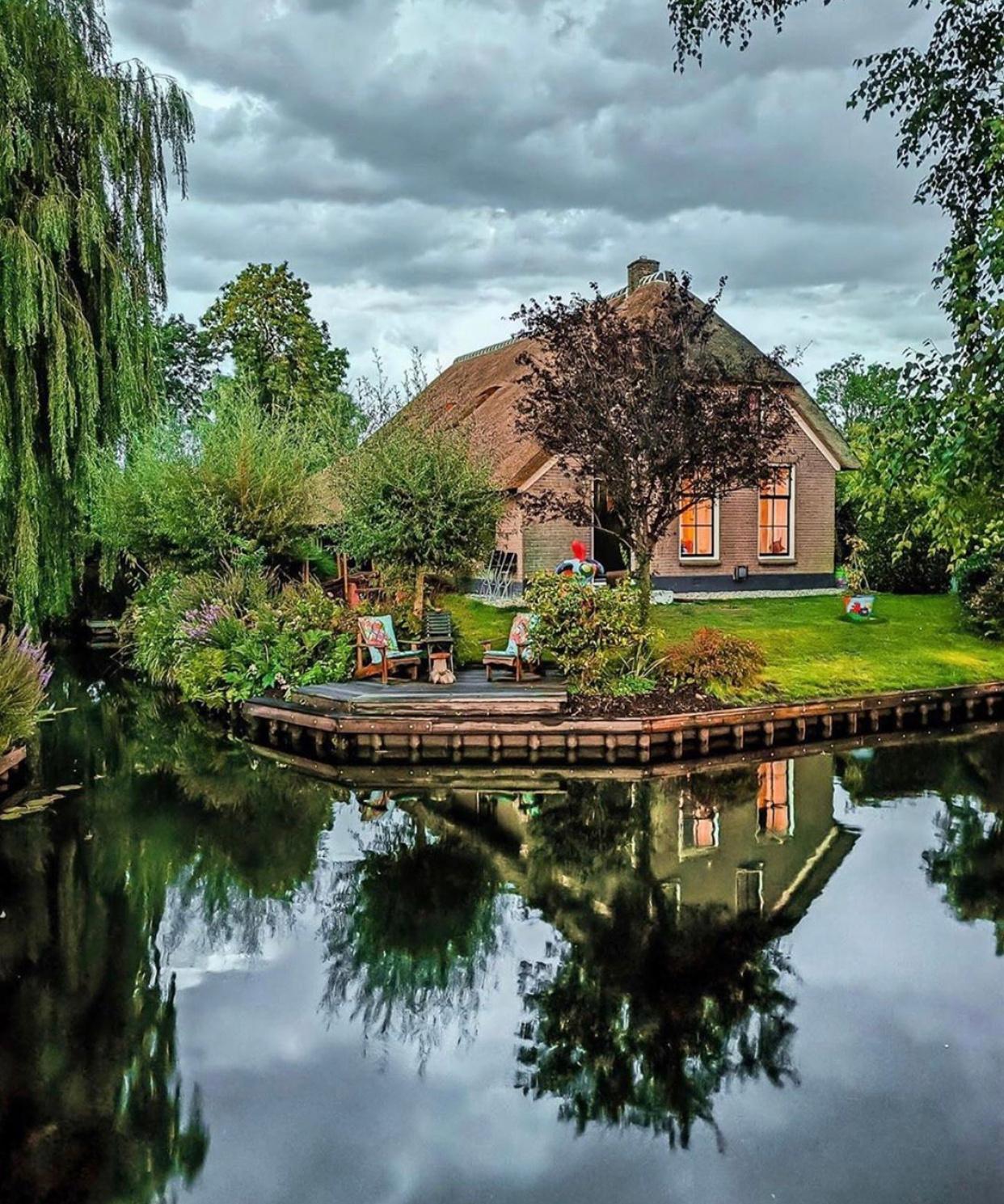 荷兰小镇的悠然时光。