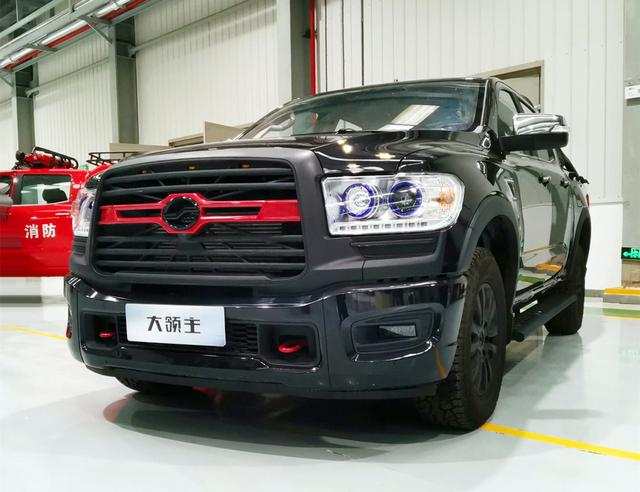 四驱,2.5T柴油动力,外观更霸气犀利,中兴大领主新车型曝光
