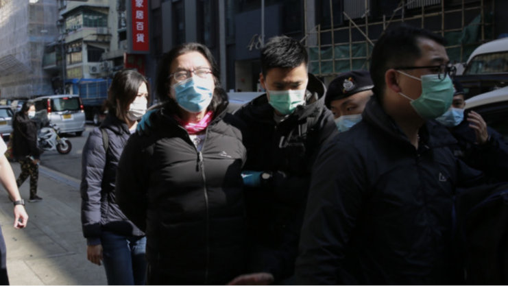 """充当乱港逃犯""""保护伞"""",马英九昔日同窗被捕!丨香港一日"""