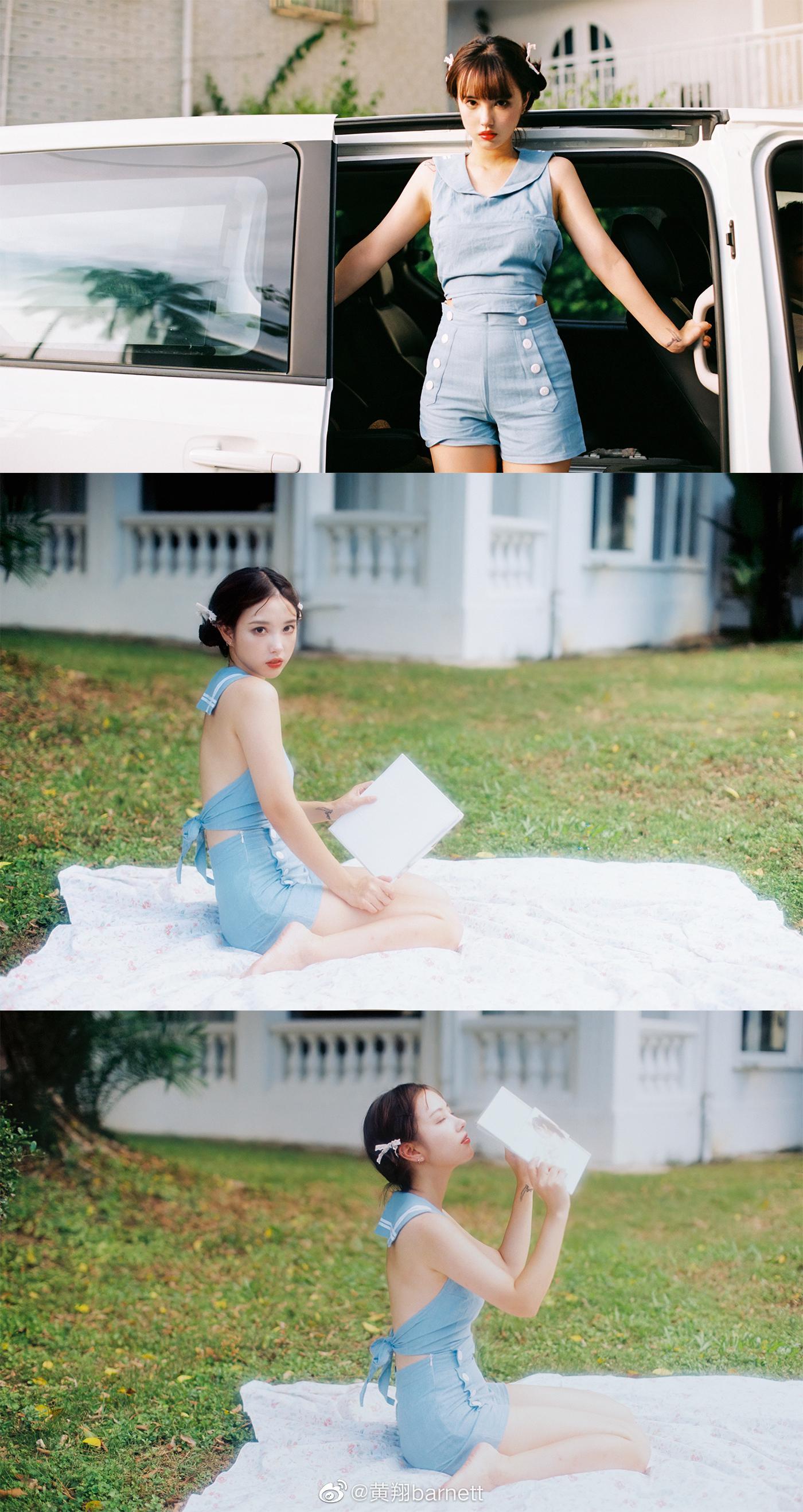《夏日最终曲》Milu写真集(一)@黄翔barnett X@AmaiAmai-MILU