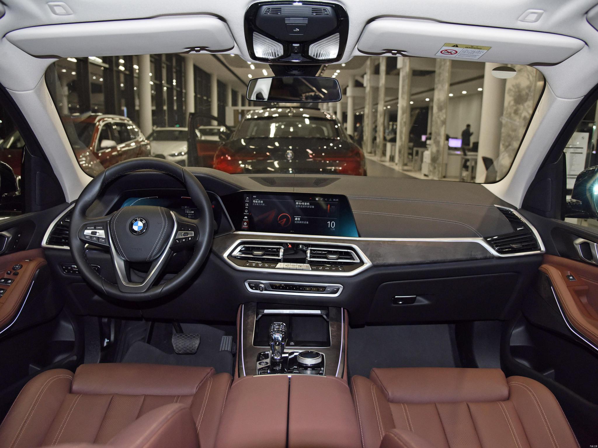 造型大气,配置升级,新款宝马X5了解下!