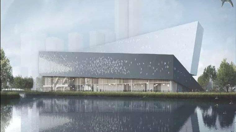 张江科学会堂钢结构顺利封顶