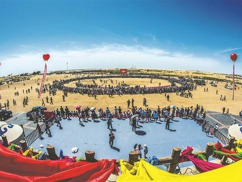 金沙之城 魅力奈曼——内蒙古奈曼旗生态文化旅游发展纪实