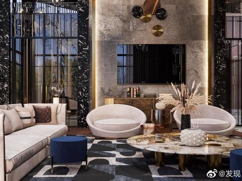 1200平方米的顶级豪宅,奢华与风格无关。