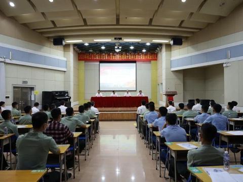 江城区召开2020年退役军人全员适应性培训开班典礼暨光荣返乡欢迎仪式