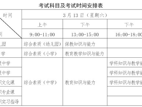 广西2021年上半年中小学教师资格考试笔试将开考