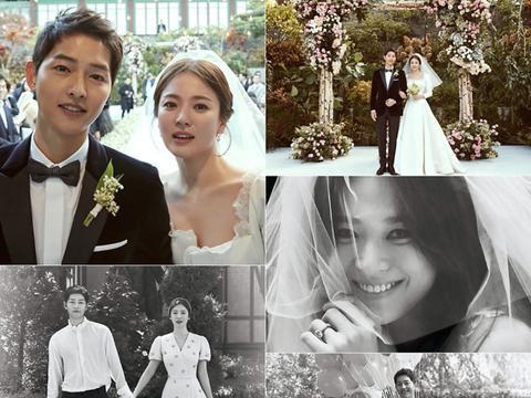 宋慧乔离婚2年7个月后重回巅峰!穿蓝衬衫巨美,不愧是国宝级女星