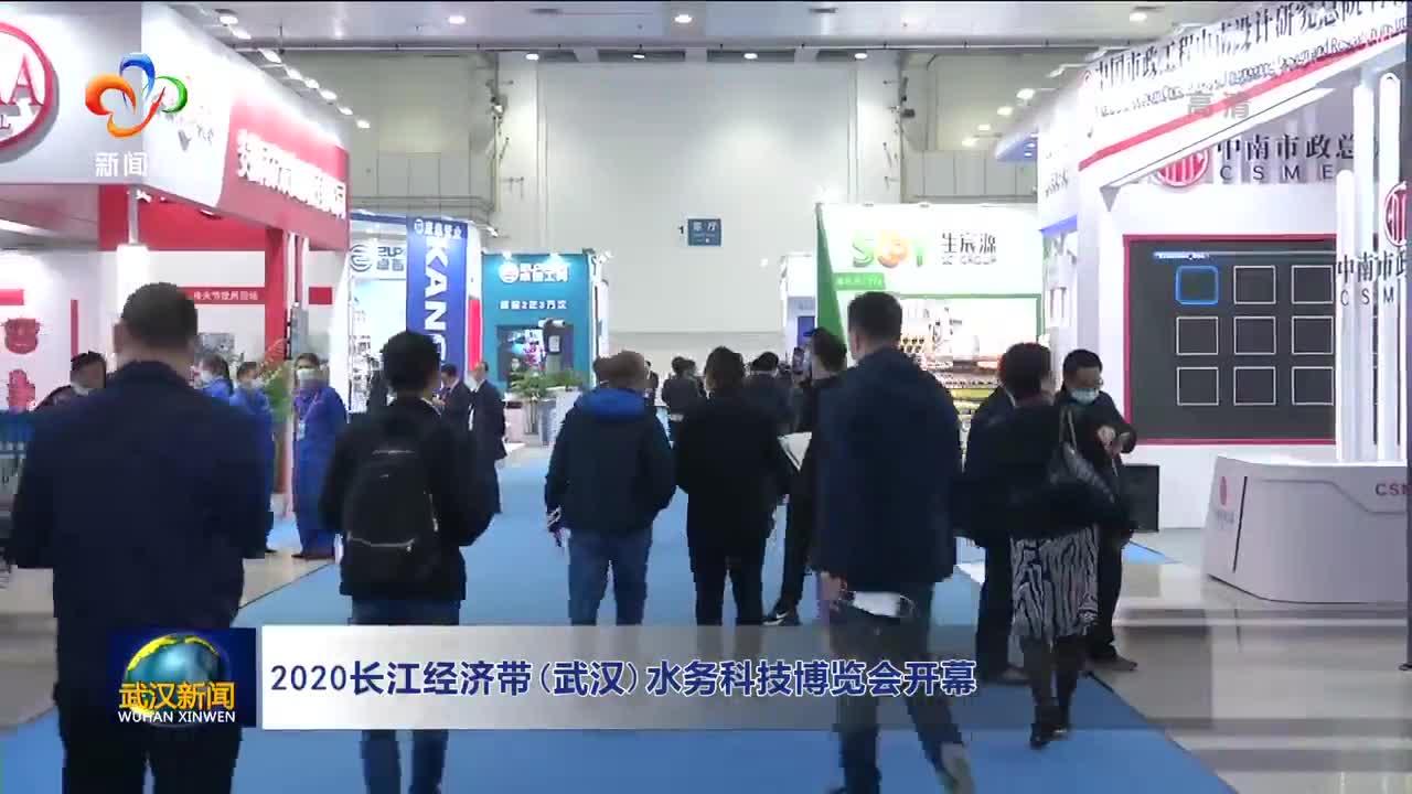 2020长江经济带(武汉)水务科技博览会开幕