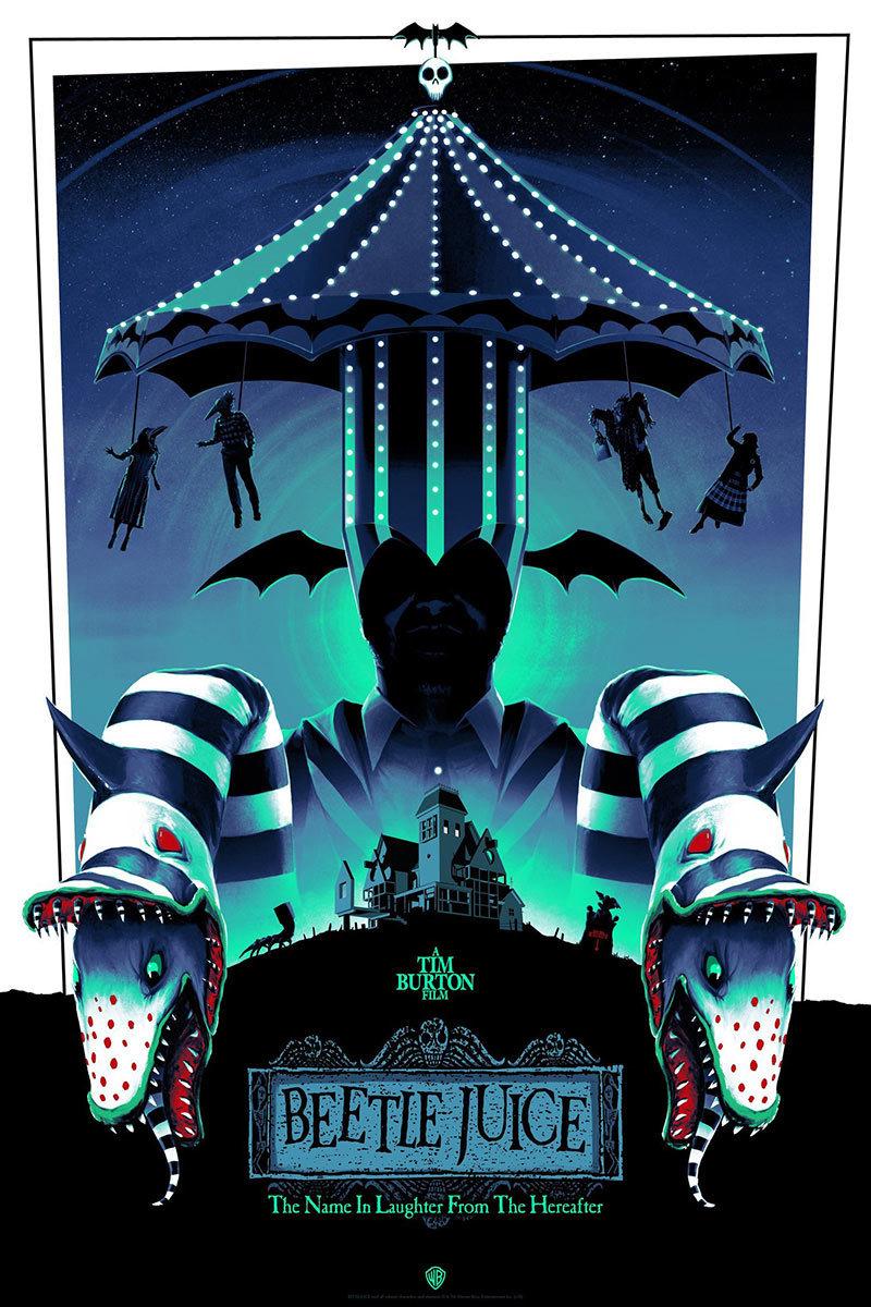 设计师 Matt Ferguson 的插画风电影海报设计