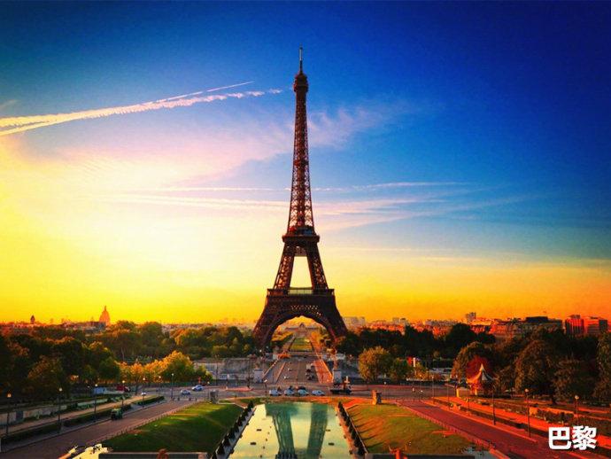 巴黎、罗马、布拉格、夏威夷、威尼斯、圣托里尼岛、巴厘岛、大溪地、
