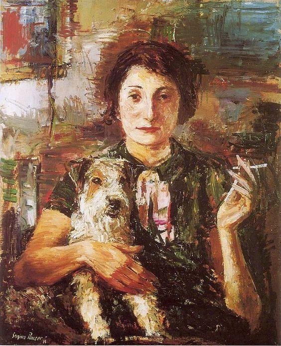 Sergius Pauser (1896-1970) ,奥地利画家。